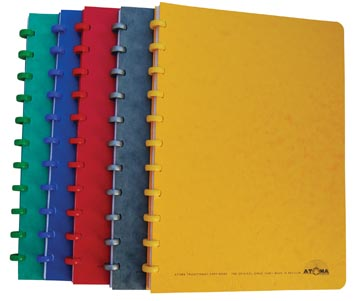 Atoma cahier de coupe, ft 16,5 x 21 cm, 144 pages, quadrillé 5 mm