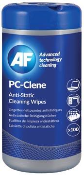 AF lingettes imprégnées PC, paquet de 100 lingettes