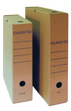 Class'ex boîte à archives,pour ft A4, ft intérieur: 34,5 x 25,1 cm