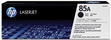HP toner 85A, 1 600 pages, OEM CE285A, noir