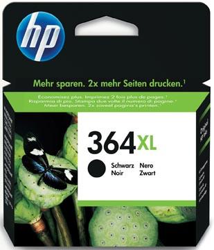 HP cartouche d'encre 364XL, 550 pages, OEM CN684EE, noir