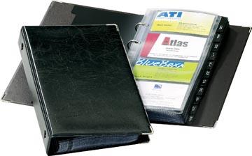 Durable Porte-cartes de visite Visifix 2383 noir
