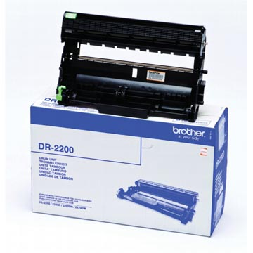 Brother tambour, 12.000 pages, OEM DR-2200, noir