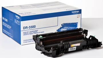Brother tambour, 30.000 pages, OEM DR-3300, noir
