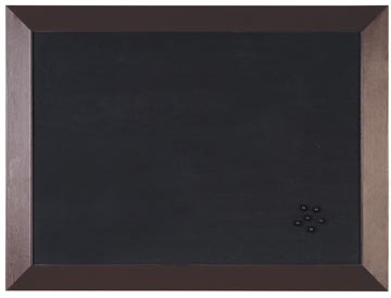 Bisilque Tableau d'affichage Kamashi avec cadre brun