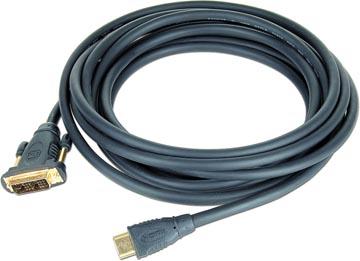 Gembird Cablexpert câble adaptateur HDMI pour DVI, 1,8 m