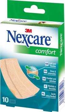 3M pansement Nexcare Comfort 360° ft 10 x 6 cm, à découper, paquet de 10 pièces