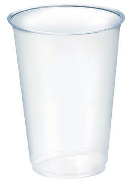 Gobelet en PLA, 200 ml, transparent, paquet de 100 pièces