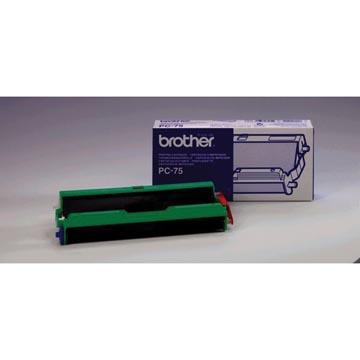 Brother rouleau transfert thermique avec cassette, 144 pages, OEM PC75
