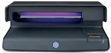 Safescan détecteur de faux billets 50, avec détection UV des contrefaçons, noir