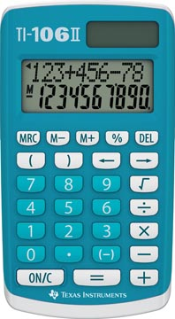 Texas Calculatrice de poche TI-106II