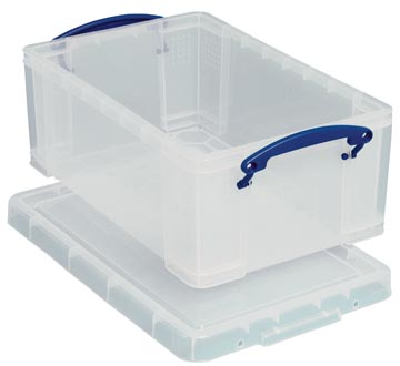 Really Useful Box boîte de rangement 5 l, transparent