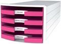 Han blac à tiroirs Impuls, tiroirs ouverts, Trend Colour rose