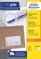 Avery Zweckform 3660-2, étiquettes universelles, Ultragrip, blanc, 200 feuilles, 97 x 67,7 mm