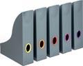 Varicolor porte-revues, set de 5 couleurs assorties