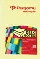 Pergamy notes, ft 51 x 76 mm, jaune